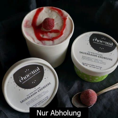 Sauerrahm-Erdbeer-EIS